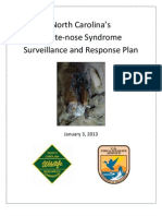 Nc Wns Surveillance Response Plan With Appendices 18jan2013