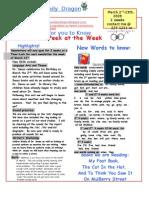News 09 3rd 9 Weeks March 2nd-13th Begin 2 Weeks Span