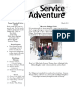 Service Adventure News March 2013