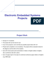 Electronic Embeded System Projects
