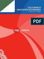 2.NAP Secundaria Lengua 2011 Baja