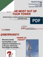 Davies_GET the MOST OUT of YOUR TOWER_Excelente Presentacion Sobre Torres y Normas TIA Contexto Historico y Cambios