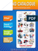 Printing Catalogue Sumber Bahagia