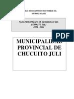 PLAN 11654 Plan Estrategico Institucional 2010