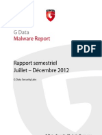 GData MalwareReport H2 2012 FR