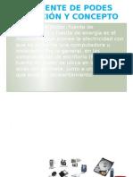 LA FUENTE DE PODES DEFINICIÓN Y CONCEPTO 3