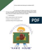 Proyecto de creación de una residencia universitaria para los estudiantes del ITO