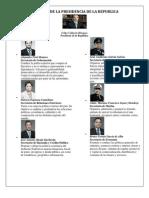 Gabinete de La Presidencia de La Republica