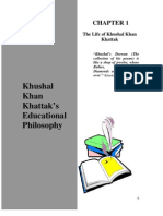 khushal khattak--