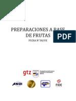 38-Preparaciones a Base de Frutas