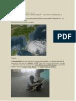 Efectos de Los Huracanes Categoria 1 3 y 5