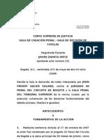 T-36194 (27!05!08) Preacuerdos y Allanamiento, Proceso en Curso
