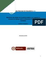 Informe Centro Nacional de Consultoría