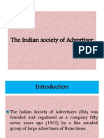 The Indian Society of Advertiser