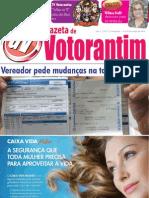 Gazeta de Votorantim - 7ª Edição - Capa Falsa