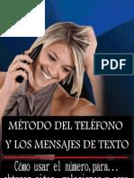 método del teléfono  y los mensajes de texto - alex coulson -