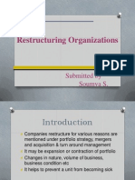 Restructuring Organizations