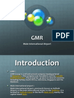 GMR and Male Airport