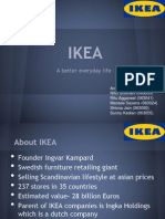 IKEA- Expansion to Brazil
