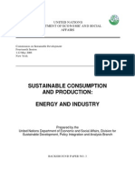 Sustainable Consumption & Production-Energy & Industry_2006