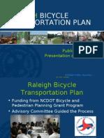 Raleigh Bike Transportation Plan