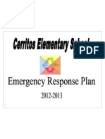 cerritos elementary emergency response plan nov 13