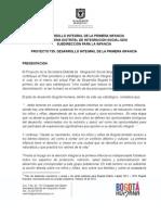 735 Desarrollo Integral de La Primera Infancia en Bogota