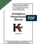 emergency plan 12-13
