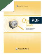 Ohio Sunshine Laws 2013