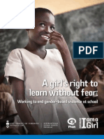 A Girl's Right to Learn Without Fear