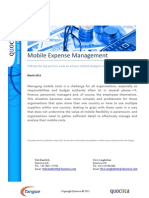 Mobile Expense Management