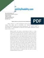 Bipolar Disorder and Social Security Disability Benefits