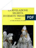 123627508 La Rivelazione Segreta Di Ermete Trismegisto Vol 1 Fond Lorenzo Valla