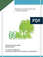 Seminar Paper on Constitution