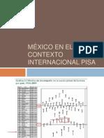 México en el contexto internacional PISA