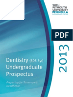 Plymouth Dentistry Prospectus