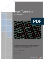 Cyber Terrorism Fact or Fiction