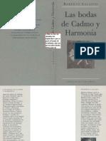 Calasso Roberto - Las Bodas de Cadmo Y Harmonia