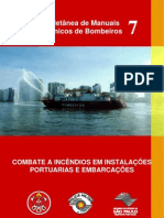 MTB-07 - Incêndios em Instalações Portuárias e Embarcações