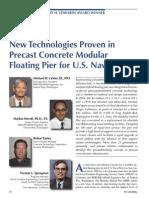 Modular Floaing Precast Concrete HybridPier