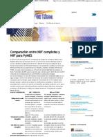 Comparación entre NIIF completas y NIIF para PyMES _ CONTADORENLINEA.com.ve