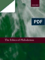 Voula Tsouna the Ethics of Philodemus 2008