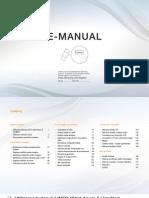 Manual Ue32eh4000w