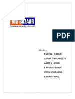 Big Bazaar Assignment