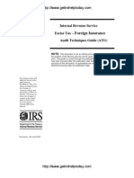 IRS Audit Guide for Foreign Insurance Transactions