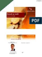 PPT Moneda Si Credit - Capitolul 01