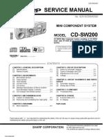 Sharp CD-sw200