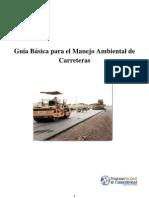 3. Guía Ambiental - Carreteras
