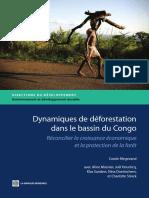 Dynamiques de déforestation dans le basin du Congo