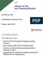 International English Language Testing System - Teaching Strategies